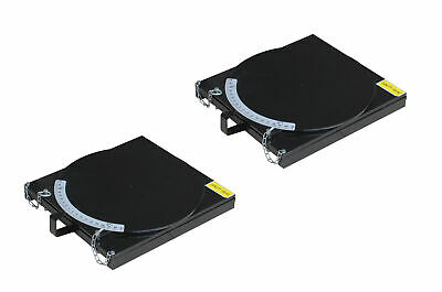 Kernel 4 Post Lift Rotating Alignment Turn Table Plates Pair