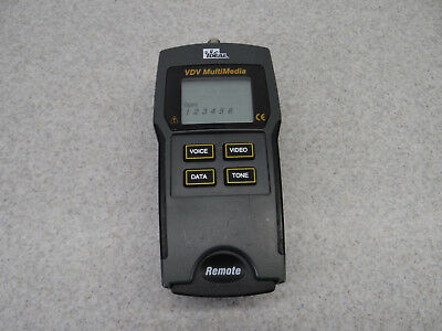 Ideal VDV Multimedia Cable Tester Ethernet/Coax/Phone Lines