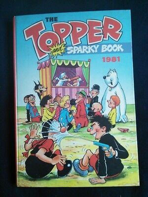 The Topper and Sparky Christmas Annual 1981 - price unclipped