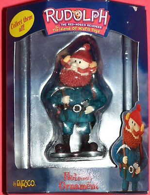 * Yukon Cornelious With Axe * Ornament Rudolph Island of Misfit Toys Enesco New