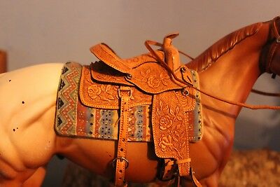 Breyer /Peter Stone Horse Southwest western Cutout Saddle pad ~ONLY