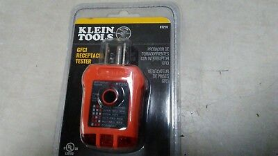 Klein Tools RT210 GFCI Receptacle Tester  New Sealed