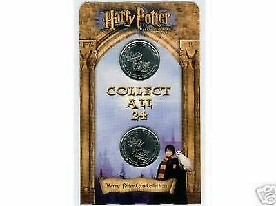 Harry Potter Coin, Coins SEALED & Brand NEW ASDA Gringotts Savings Bank Carded.