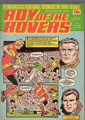 (-0-) Roy Of The Rovers Comic 10Th March 1984 With Moon Patrol Atari Advert Rare