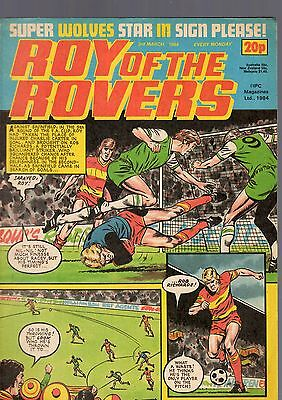 (-0-) Roy Of The Rovers Comic 3Rd March 1984 With Atari Battle Zone Advert