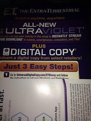 E.T The Rxtra Terrestrial Digital Movie Code