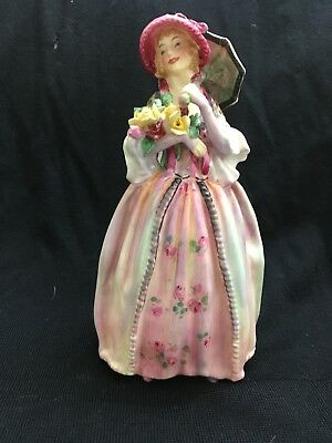 "Rare Royal Doulton Figurine ""June"" HN1691 - 7"" Tall with 5"" Base"