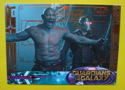 2014 UD *GUARDIANS Of The GALAXY* Chase Parallel BRONZE Card # 80 DRAX Star-Lord