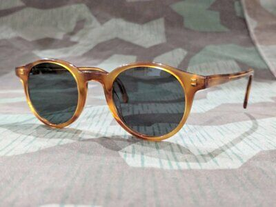 WWII German sunglasses 1940's Umbral Blendschutzbrille Repro Pilot MG brille