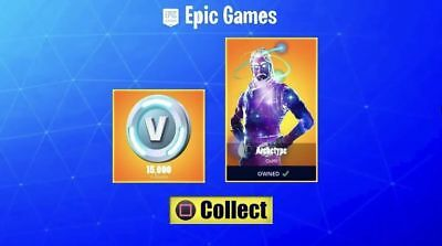 FORTNITE GALAXY SKIN and 15,000 V-Buck - Rare Skin Only From The Note 9