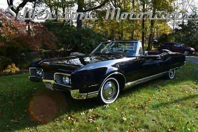 1967 Oldsmobile 98  1967 Black Convertible Great Driver Classic Burgundy Interior