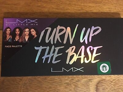 LMX By Little Mix Turn Up The Base Face Palette.Brand New,& Sealed