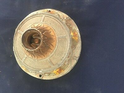 Vintage Art Deco Ceiling Light Fixture Made by M.L.F. INC.B.40. H.Pat. 5/18/1926