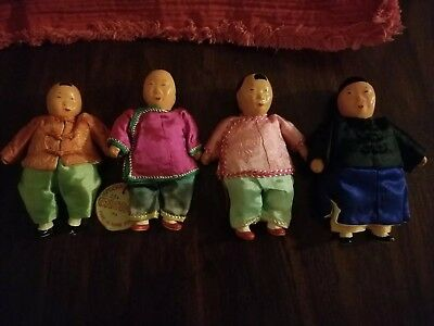 Vintage Michael Lee Family Doll Lot