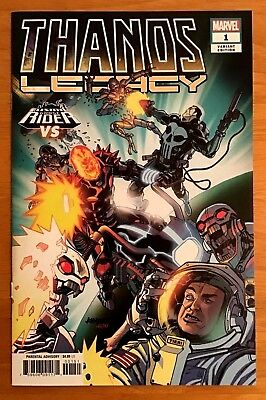 Thanos Legacy 1 2018 Cover B Variant Cosmic Ghost Rider VS Cover Donny Cates NM