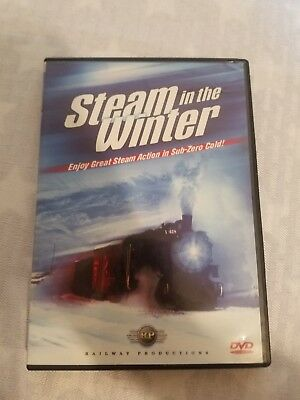 Railway Productions, Steam In The Winter: Enjoy Great Steam Action In Sub-Zero