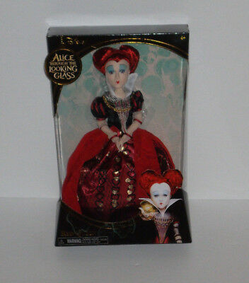 NEW Alice in Wonderland Through the Looking Glass Red Queen Disney Doll