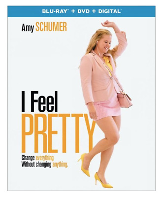I Feel Pretty (Blu-ray, DVD, Digital, 2-Disc Set) Brand New