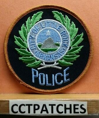 City Of Little Rock, Arkansas Police Shoulder Patch Ar