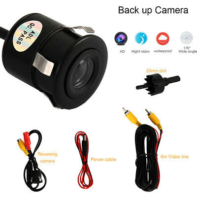 Car Rear View Backup Camera Parking Reverse Back Up Camera Waterproof 170° CA
