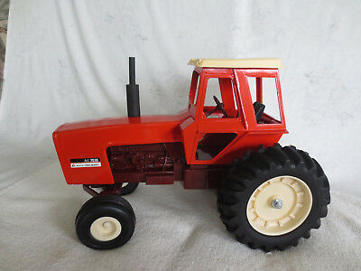Vintage Ertl 1/16 Scale Allis Chalmers 7030 Maroon Belly  Farm Toy Tractor
