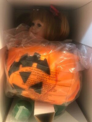 "Marie Osmond  Halloween Doll.'lil'pumpkin"".(Doll For All Seasons Collection)"