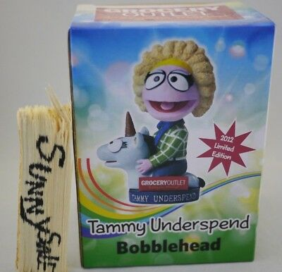 GROCERY OUTLET 2012 Edition TAMMY UNDERSPEND Bobblehead doll Bobble Head Unicorn