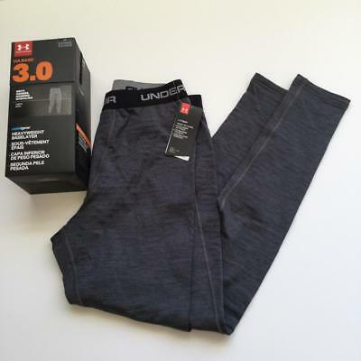 Under Armour Mens Large COLDGEAR Fitted Base 3.0 layer Pants Leggings NWT $75