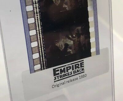 Authentic Star Wars Empire Strikes Back Movie Film 5-Cells REBELS ON HOTH