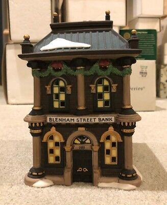 Dept. 56 - Dickens' Village Series, Blenham Street Bank - #58330