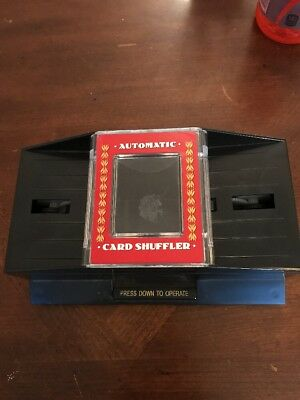 Bicycle Automatic Card Shuffler 1-2 Decks of Poker or Bridge Size Playing Cards