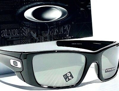 89634303a5 NEW  OAKLEY FUEL CELL Black polished w PRIZM Black Iridium Sunglass 9096-J5