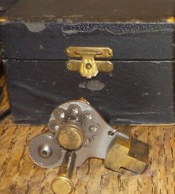 Antique Vintage German Watchmaker Pendant Bow Mill Miller Milling Tool - 2 Avail
