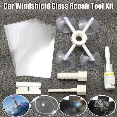 Cracked Glass Repair Kit Windshield Kits DIY Car Window Phone Screen Repair Tool