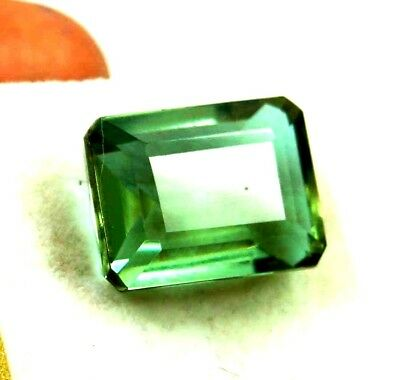 GGL Certified 19.65 Ct Charming Emerald Cut Color Changing Alexandrite Gem