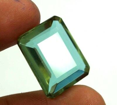GGL Certified 18.50 Ct Charming Emerald Cut Color Changing Alexandrite Gem