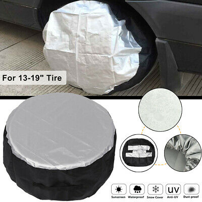 Universal Car SUV Rim 13-19'' Wheel Bag Tire Tyre Spare Storage Cover Protector