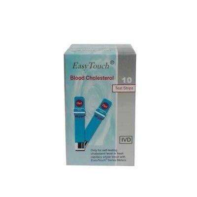 Easytouch Blood Cholesterol Test Strips Monitor Control strip