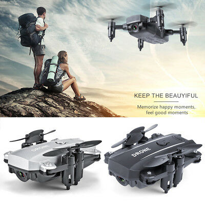 Camera Drone M9 Folding Mini Quadcopter WIFI 4CH 6-Axis Remote Control Aircraft