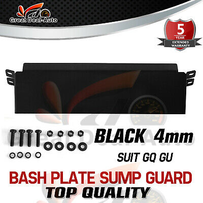 ATP Y60 Y61 Bash Plate - Fits  Nissan GU & GQ Patrol - EXTRA TOUGH RED