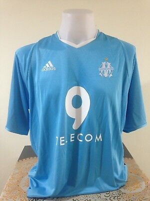 Maillot Marseille OM Retro 2003 2004 Drogba Size L 100% Authentic Jersey  Rare 8074a86a5690