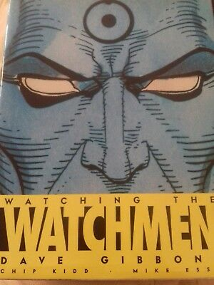 Watching the Watchmen by Dave Gibbons - 1ST EDITION - SIGNED - DC Comics
