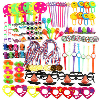 120 X Kids Birthday Party Favors Pinata Filler Assorted Gifts Toys Box Prizes AU