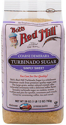 Bob's Red Mill, Turbinado Sugar, 28 Oz (793 G)