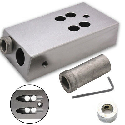 1pc Aluminum Alloy Pocket Hole Screw Jig Carpenters Woodworking Joint Tool
