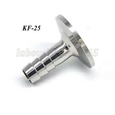 Adapter KF-25 to Rubber Hose Nozzle Transition Fitting Stainless Steel 304