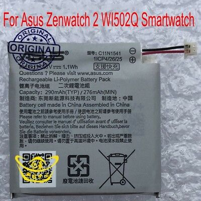 Genuine C11N1541 Battery for Asus Zenwatch 2 WI502Q Smartwatch 1ICP4/26/25
