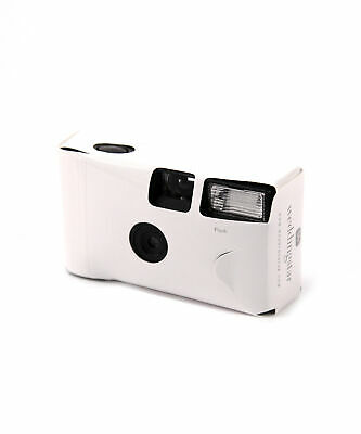Disposable Camera with Flash White Pack of 10
