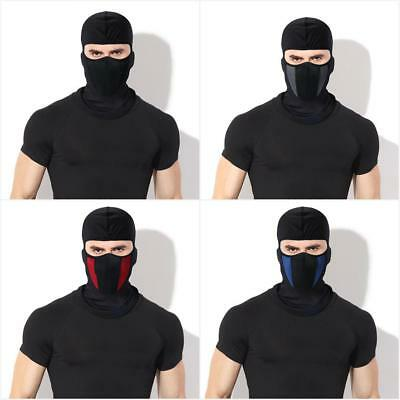 Unisex Motorcycle Bike Riding Full Face Mask Head Cover Hood Outdoor Cycling US