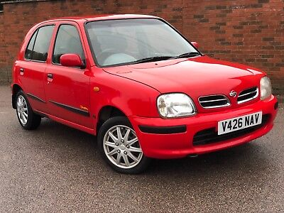 2000 Nissan Micra Inspiration 16V 1.2 Red Manual Petrol VERY TIDY CAR